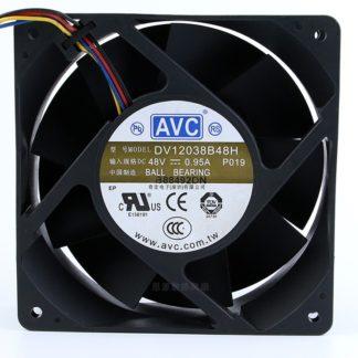 AVC DV12038B48H DC48V 0.95A 12CM industrial inverter cooling fan