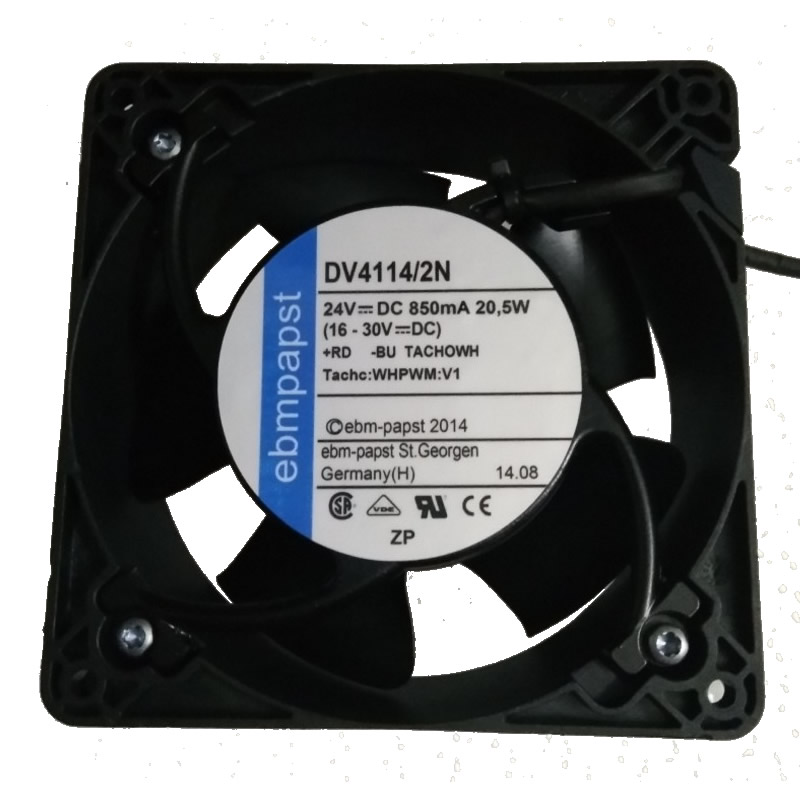 ebmpapst DV4114/2N DC24V 20.5W 3-wires Cooling Fan