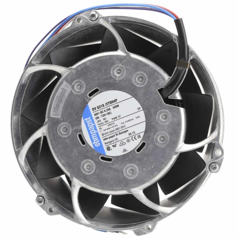 ebmpapst DV6318/2TDH4P DC48V 6.25A 300W cooling fan