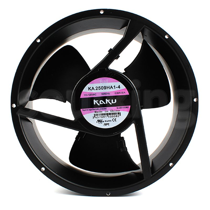 KAKU KA2509HA1-4 AC110V 0.65A Axial cooling fan