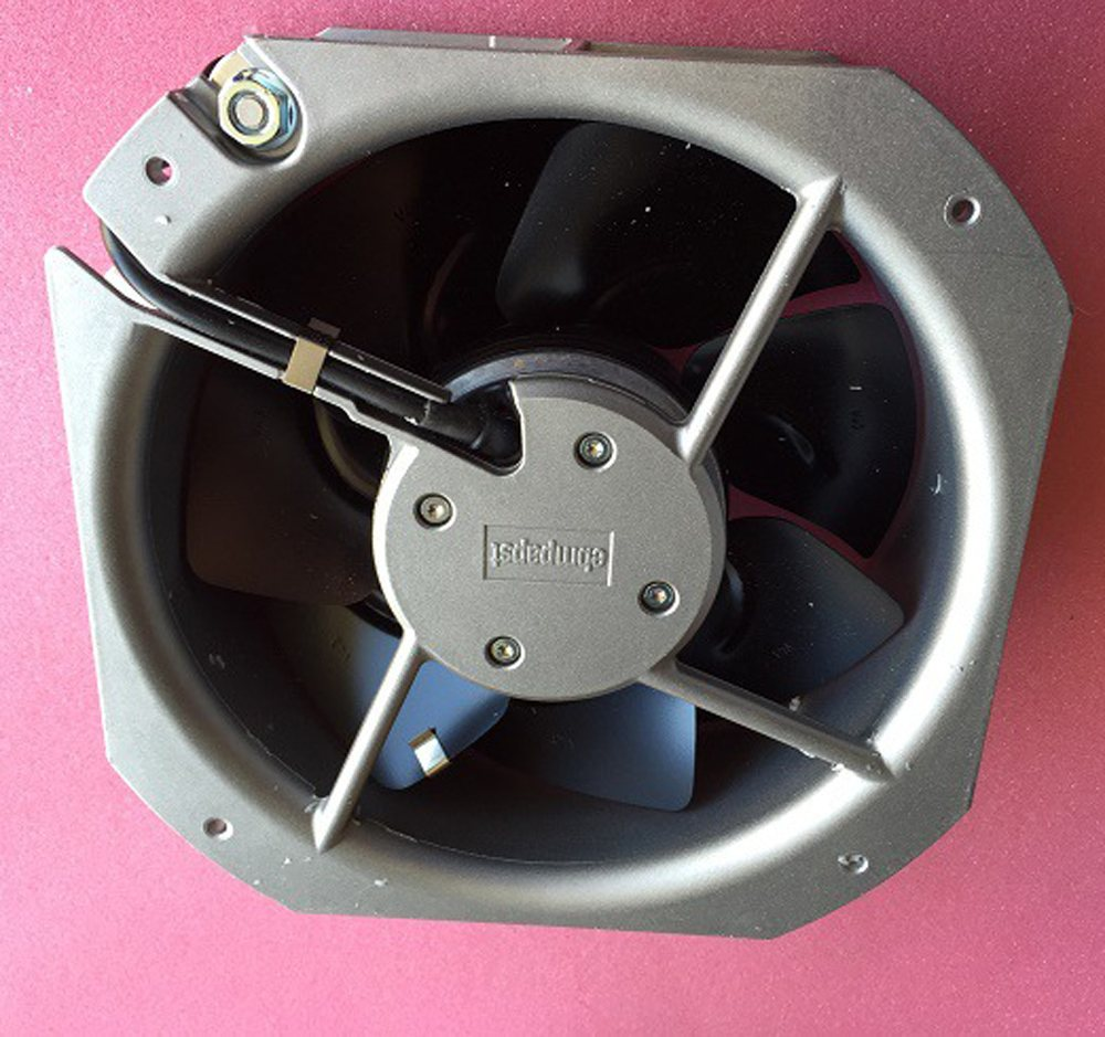 ebmpapst W2E200-HH86-01 AC115V 80W high temperature resistant metal cooling fan