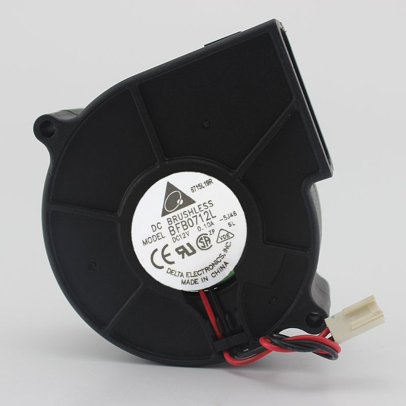 Delta BFB0712L DC 12V 0.10A 3-pin turbo centrifugal blower fan