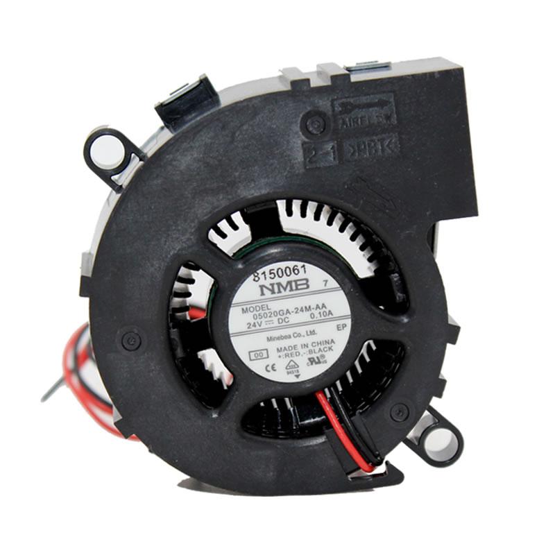 NMB 05020GA-24M-AA  DC24V 0.10A centrifugal turbine blower fan