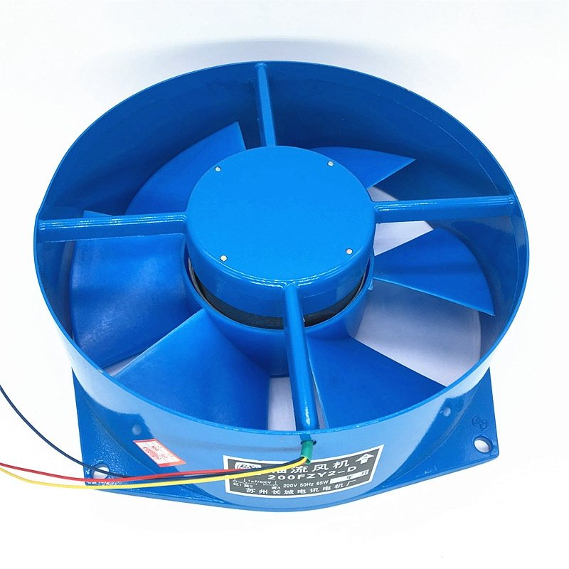 200FZY7-D AC380V 65W Axial Flow Electric Box Cooling Fan Wind Direction Adjustable