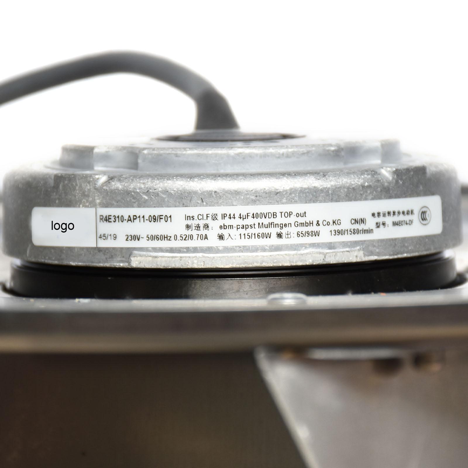 Ebmpapst R4E310-AP11-09/F01 230V 0.70A 160W FFU Turbo Centrifugal Fan