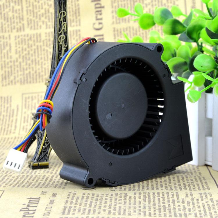 AVC BA10033B12M 12V 0.99A 9CM 4-wire PWM temperature centrifugal fan