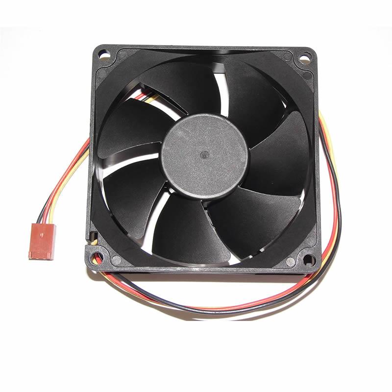 Y.S.TECH NFD4881255B-2F DC 48V 2.88W 3-wire Cooling Fan