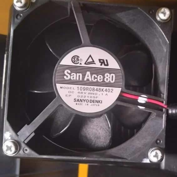 Sanyo 109R0848K402 DC48V 0.1A  2-wire cooling fan