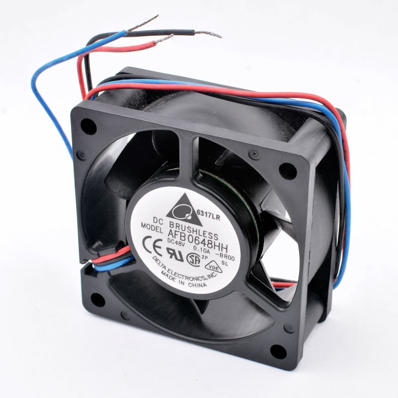Delta AFB0648HH-BR00 DC48V 0.10A 3-wires cooling fan